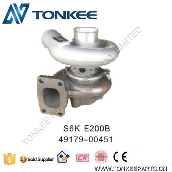 S6K turbocharger E200B engine turbo 49179-00451