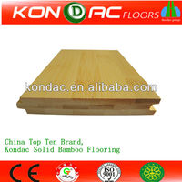 CE Chinese Factory Provided Natural Horizontal Solid White Bamboo Flooring