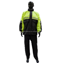 oem fashionable polyester motorsport adult rainwear