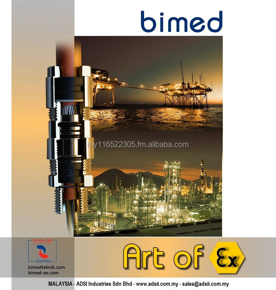 Bimed Cable Glands for Armoured Cables