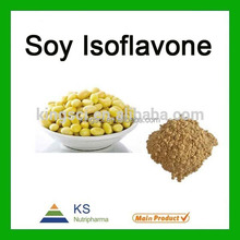Factory supply Natural Total Isoflavones from Soy Extract,Soy Isoflavone powder