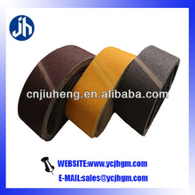 fast polishing/stable quality/variety size sanding belts for metal and nonmetal