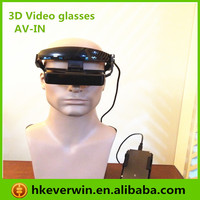 3D Glasses for PC and AV/3D High Quality Video Eyewear with 80inch virtual screen for 3d game and movie