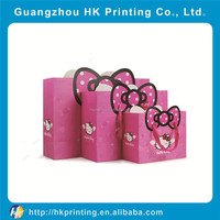 manufacturer high quality paper bag with custom logo printing