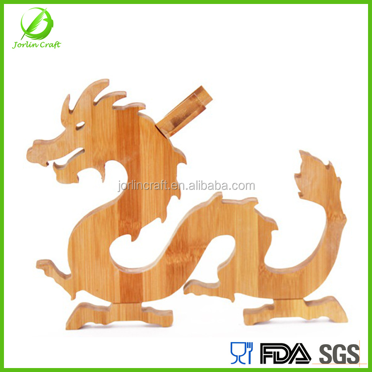 dragon shape christmas novelty wine bottle holder