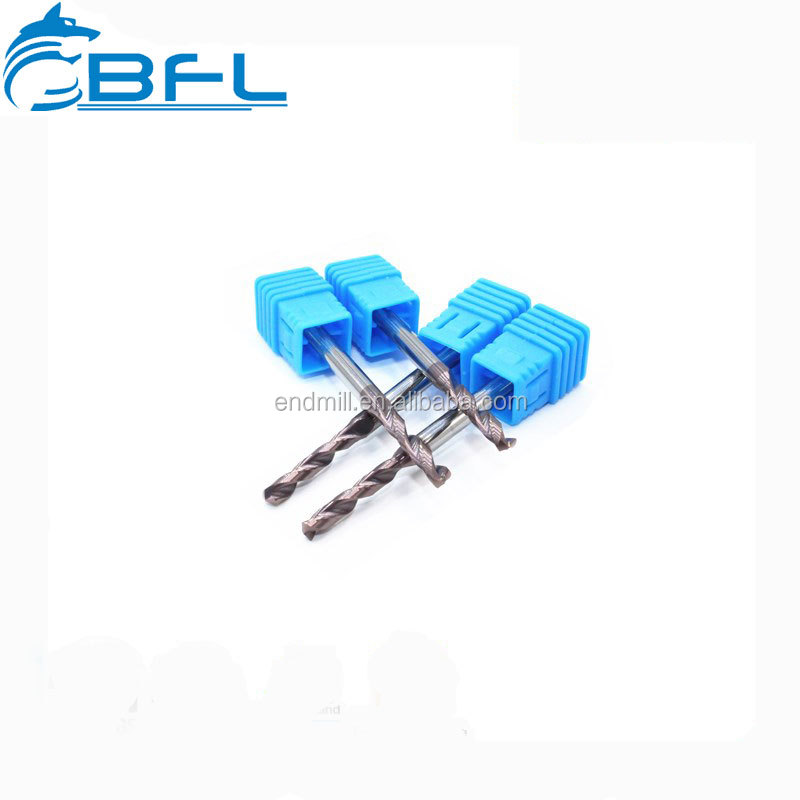 BFL High Performance Carbide Twist Drill Step Drill Bits For Hardened Steel