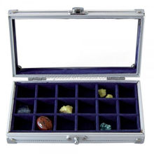 Mini Aluminum Display Case for Rocks & Minerals
