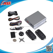 ( PKE ) Passive keyless entry system with smart key and push start button