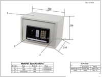 Top grade stylish hot-sale kid electronic safes