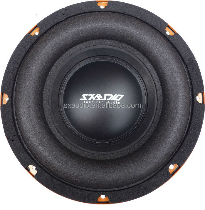 Iron basket dual voice coil 10 inch car subwoofer with cheap price
