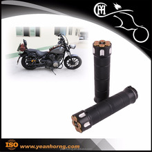 "YH183005 1"" CNC Motorcycle Handle Grips with Electrical Control for 1"" handlebar"