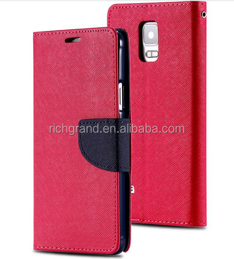 Luxury PU Leather Flip Wallet Stand Cover Case for Samsung S3 I9300