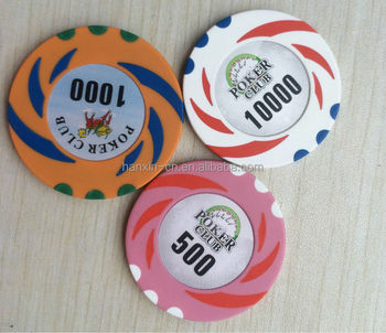 professional casino clay poker chip