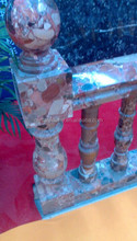 honed marble balusters handrail on sale