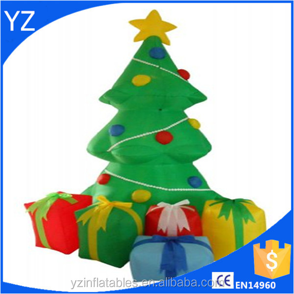 inflatable christmas decorations/inflatable Christmas tree