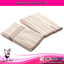 Factory Price Paraffin Wax Spatula 150mm Wooden Stick