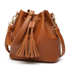 Latest Designer PU Lady bag handbag,single shoulder tote bag with Tassel