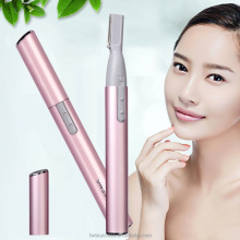 Battery pen shape personal touch razor women electric eyebrow shaver