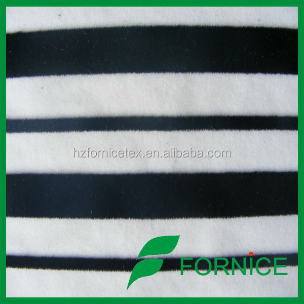 100 polyester textile flock fabric for sofa and upholstery