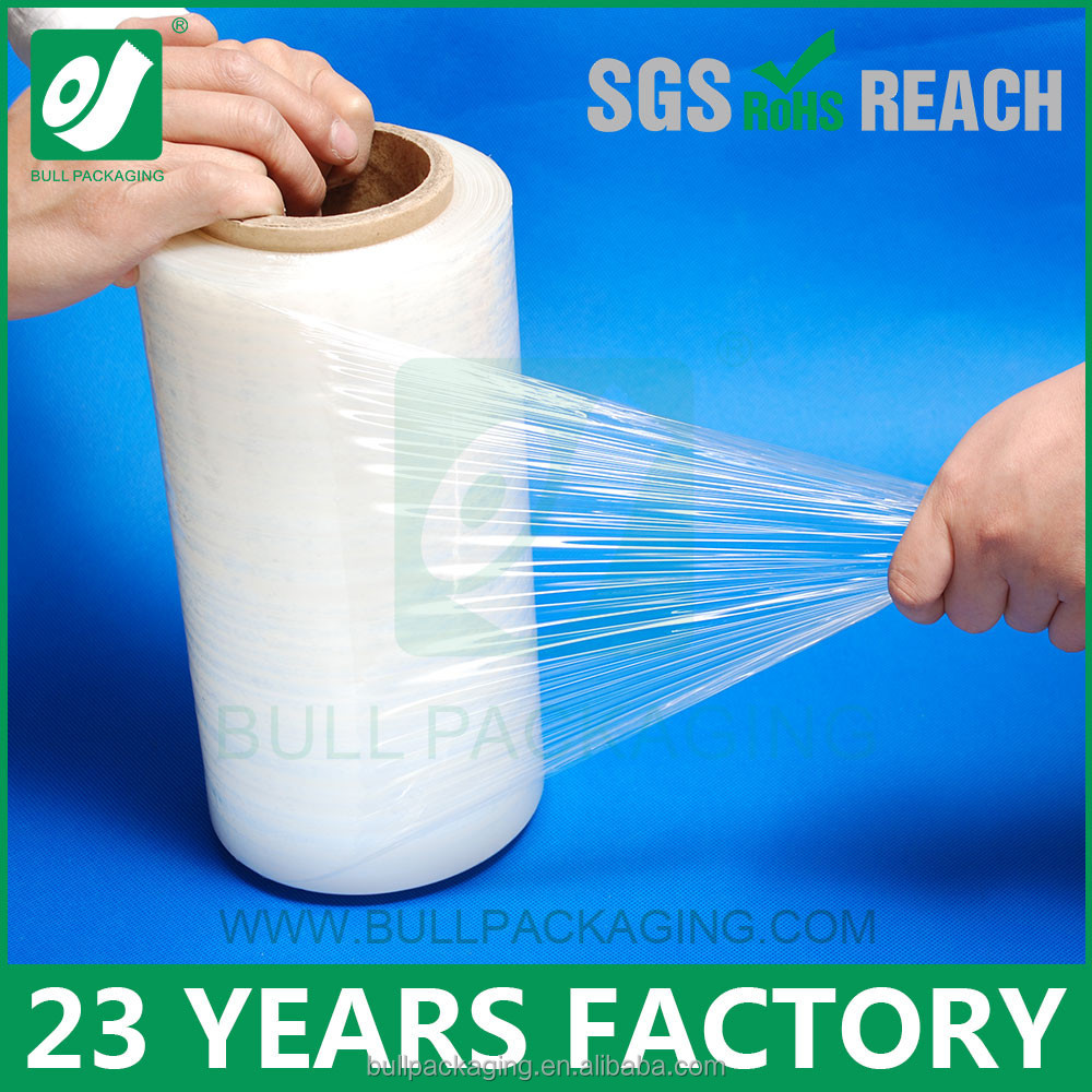 5 Layers Hand LLDPE Stretch Film Plastic Wrap