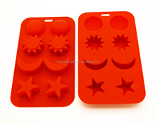 Personalized durable shaped custom silicone ice cube tray/ice form/ice tray