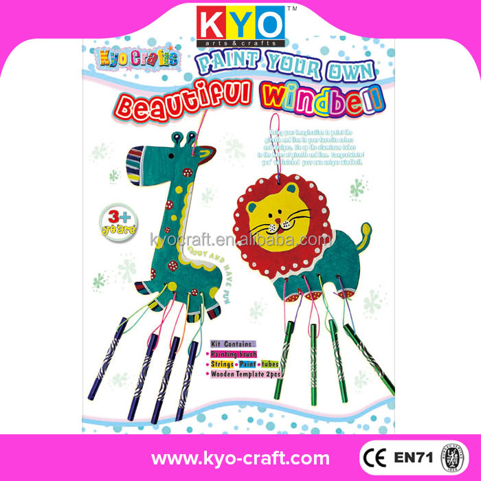 Factory supply lion and giraffe crafts kits for kids