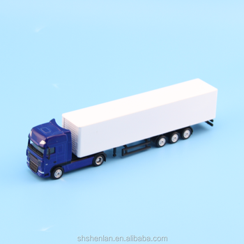 1:87 scale zinc alloy truck model