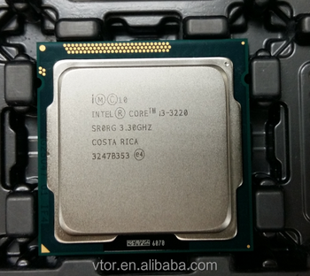 Hot Intel Core i3-3220 SR0RG Second hand CPU