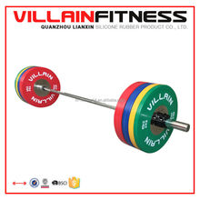 gym rubber weight plates/KG gym Bumper Plates Training Weight Plate Min. Order: 2 Tons
