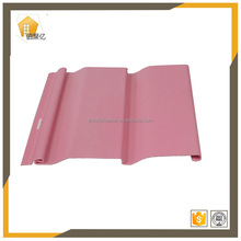 plastic pvc profile use for renovation of old houses office hotel new decoration pink vinyl siding
