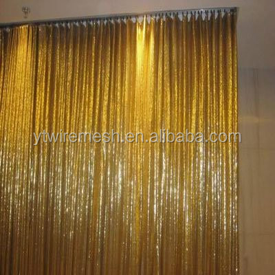 metal fabric decorative hanging room divider
