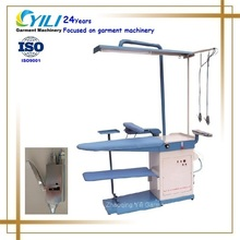 Commercial laundry cleaning equipment /Industrial stain removal table and vacuum ironing table