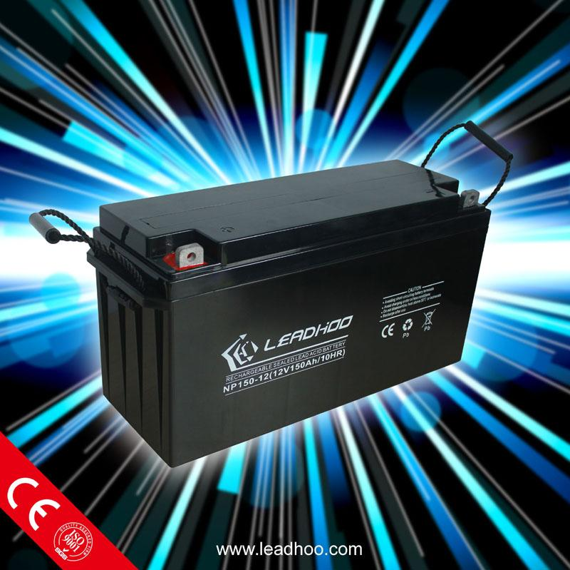 12V 150Ah Deep Cycle Flooded Lead Acid Golf Cart Battery