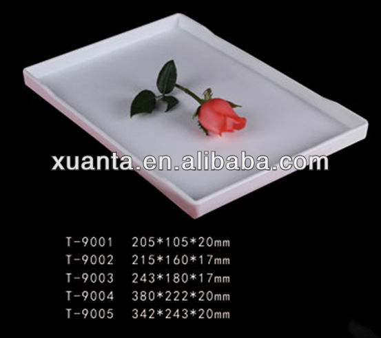 5 sizes high-end banquet melamine serving trays
