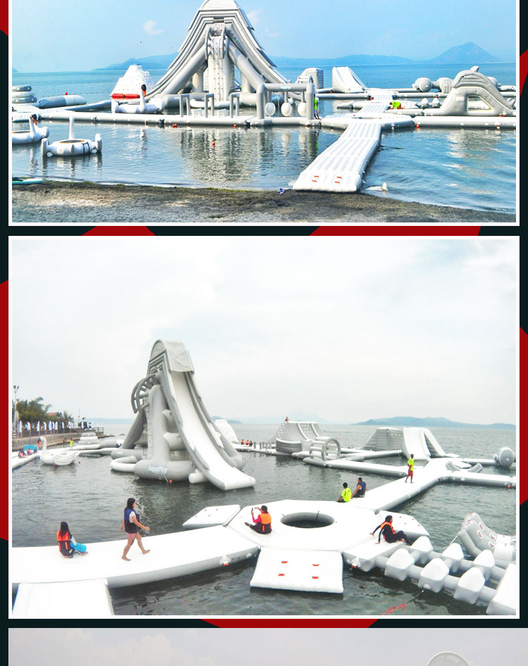 CE,EN14960 giant inflatable floating water park