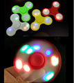 Best Selling Products 2017 In USA Desk Toy Hand Finger Fidget Spinners With LED Light