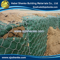 Factory Made high quality low price hexagonal gabion basket/gabion wire mesh