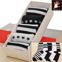Cheap baby sock comfortable cartoon Wholesale promotion and comfortable Children Striped Socks