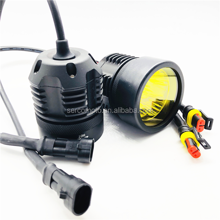 Waterproof auto LED motorcycle driving spot light 25W 12 V for motor cycle headlight high beam