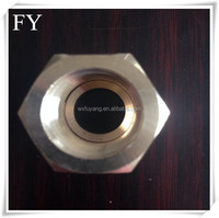 DIN High Quality Hexagonal Nylon Lock M8 M10 M16 brass copper stainless iron Nut Suppliers