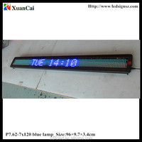 blue color single line message_96*9.7*3.4cm_Small LED display_LED moving message screen/board/ panel/display