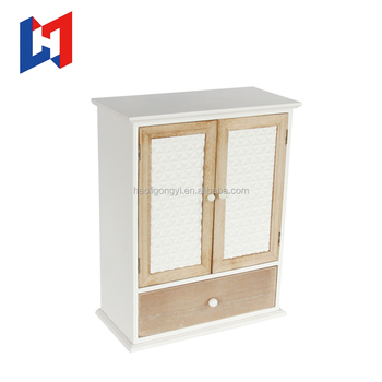 Wall mounted office file cabinet