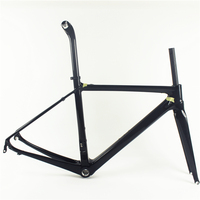 700C ORGE Aero carbon bicycle frame road bike,fashionable carbon racing frame OG-CF003 BSA&DI2 carbon road frame