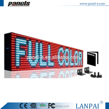 LED Sign 7 Color RGB Outdoor Programmable Scrolling Message Display