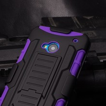2015 Best Selling Wholesale Armor Impact Skin Holster Protector Combo Mobile Cover Case For HTC One M7 ,For Htc M7 Case Cover