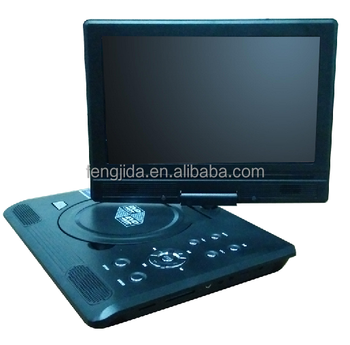 9'' portable DVD player with tv tuner
