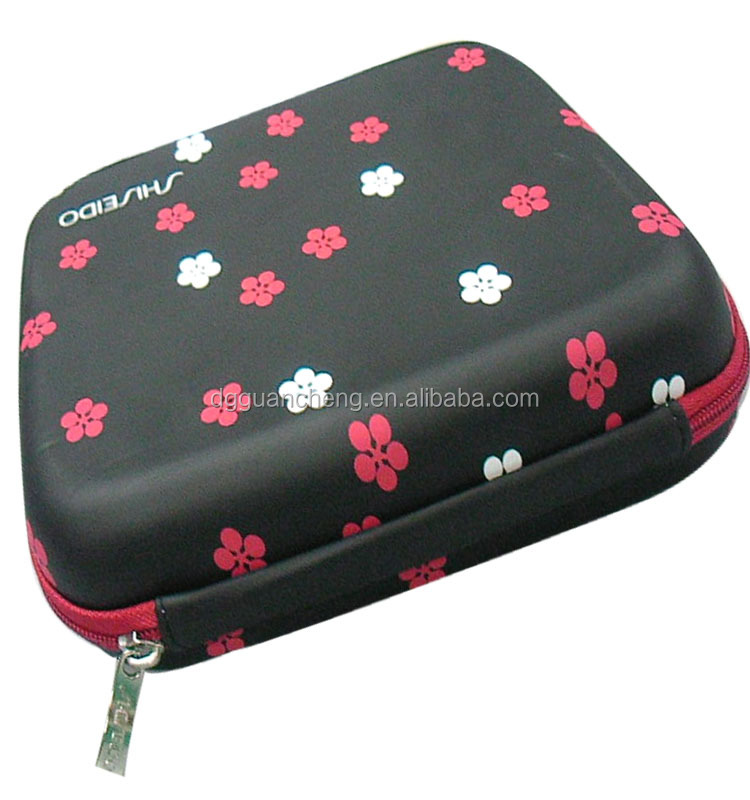 GC--Black Hanging Kit Clear Travel BAG Cosmetic Toiletry eva Case