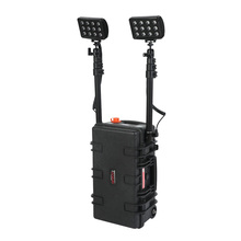 72w led remote area lighting system, firefighting rescue flashlight