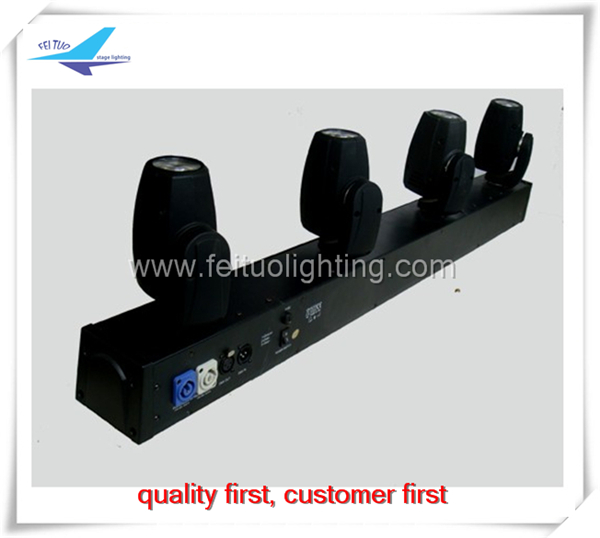 4x10W RGBW 4IN1 LED Multiple Moving Head Special Effect Bar