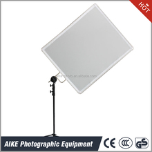 45x60cm Photo Video Studio Advanced Stainless Steel Hand Holds Flag Panel Reflector With soft cloth